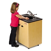 Lil' Premier Single ABS Basin Portable Hot/Cold Washing Station