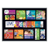 Live 54321+8 Bulletin Board Kit