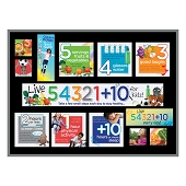 Live 54321+10 Bulletin Board Kit