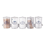 Sundry Jar Shelf Organizer - Plastic Jars (Only)