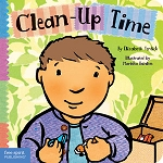 Toddler Tools Board Book Series - Clean-Up Time