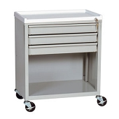 Lockable Treatment Cart - 3 Drawer