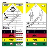 Medical Emergency Triage Tags (50-ct)