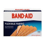 J & J BAND-AID Flexible Fabric Strips - 3/4