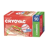 Cryovac Resealable Storage Bags - Sandwich (90/Box)