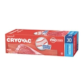 Cryovac Resealable Storage Bags - Gallon Freezer (30/Box)