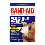 J & J BAND-AID Flexible Fabric Bandages - Assorted (20-ct)