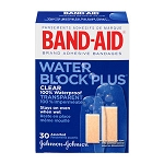 J & J BAND-AID Water Block Plus - Assorted (30-ct)