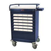 Harloff Medical Bin Treatment Cart