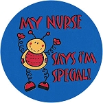 My Nurse Says I'm Special! Stickers (500-ct)