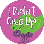 I Didn't Give Up! Stickers (120-ct)