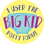 I Used the Big Kid Potty Today! Stickers (120-ct)