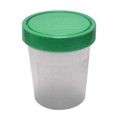 Specimen Container with Lid - Non-Sterile (25-ct)