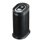 True HEPA Compact Tower Allergen Remover Air Purifier