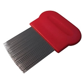 Long Tooth Metal Lice Comb