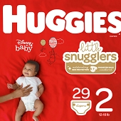 Huggies Diapers - Size 2, 12–18 lbs