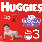 Huggies Diapers - Size 3 (16–28 lbs)