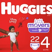 Huggies Diapers - Size 4, 22–37 lbs