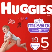 Huggies Diapers - Size 5, Over 27 lbs