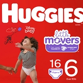 Huggies Diapers - Size 6, Over 35 lbs