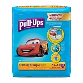 Huggies Pull-Ups - Size 3T–4T/32–40 lbs (Boys) **CASE of 4 PKGS**