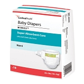 Curity Diapers - Size 2, 12-18 lbs (34-ct)