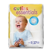 Cuties Diapers - Size 5, 27+ lbs (27-ct)