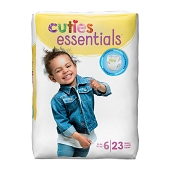 Cuties Diapers - Size 6, 35+ lbs (23-ct)