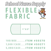 SNS Flexible Fabric Adhesive Bandages - 1
