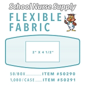SNS Flexible Fabric Adhesive Bandages - X-Large 2