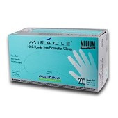 MIRACLE Nitrile Powder Free Gloves - Small (200/Box)