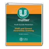 UMatter Youth Suicide Prevention Staff and Parent Awareness Training
