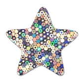 Glitter Stars & Strips - Assorted Sizes (100-ct)