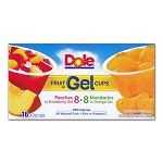 Dole Fruit In Gel Cups (16/Box)