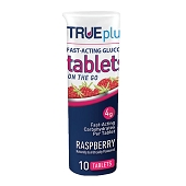 Glucose Tablets - Raspberry (10/Tube)