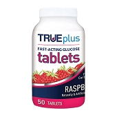 Glucose Tablets - Raspberry (50/Bottle)