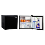 Magic Chef 1.6 Cubic Foot Refrigerator/Freezer (Black)