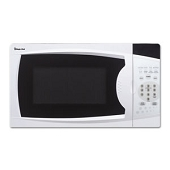 0.7 Cubic Foot Compact Microwave (White)