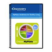 MyPlate: Guidelines for Healthy Living (DVD)