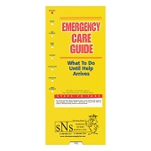 Slide Guide Cards - Emergency Care