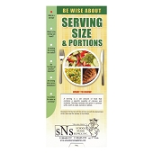 Slide Guide Cards - Serving Size & Portions