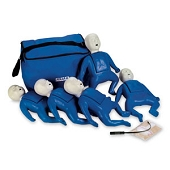 CPR Prompt Training Manikins - 5 Pack (Infant with Carrying Case)