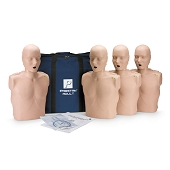 PRESTAN Professional Adult CPR Training Manikins - 4-Pack without CPR Monitor