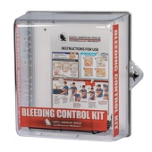 Large Public Access Bleeding Control Clear Wall Case