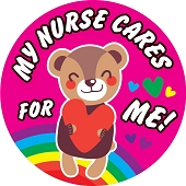 My Nurse Cares for Me! Stickers (120-ct)