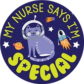 My Nurse Says I'm Special Stickers (120-ct)
