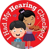 I Had My Hearing Checked! Stickers (120-ct)