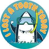 I Lost A Tooth Today Stickers (120/Pkg)