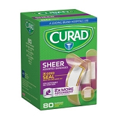 CURAD Sheer Bandages - Assorted (80-ct)