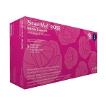 StarMed Rose Nitrile Powder-Free Gloves with Aloe - Small (200/Box)